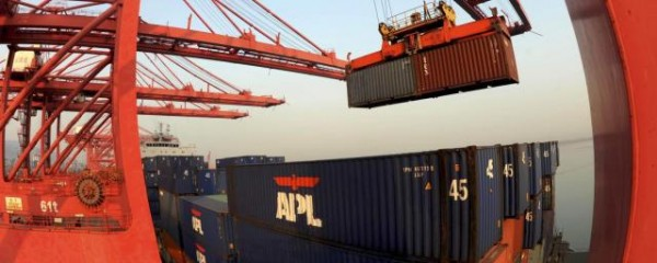 China's Exports Rise 7.2% in August