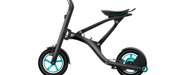 NEW E-BIKE THAT CONNECTS TO SMARTPHONE