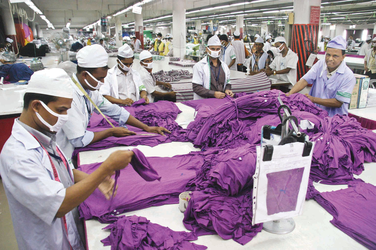 industrial labor relations of garment industries